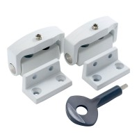 P113 Toggle Window Lock White x 2