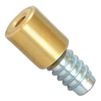 Bramah Rola S R1/02 Sashstop 19mm - Polished Brass