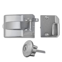 Ingersoll Rim Auto Deadlock Satin Chrome