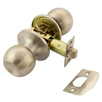 TSS Passage Knobset Satin Stainless Steel
