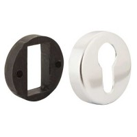 TSS Polished Aluminium Euro Escutcheon