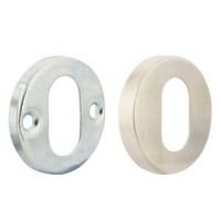 TSS Stainless Steel Oval Escutcheon