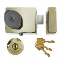 Union BS3621 Rim Lock Brass 60MM