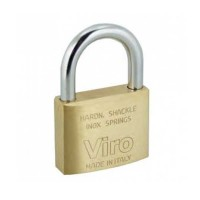 Viro Brass Padlock 25mm