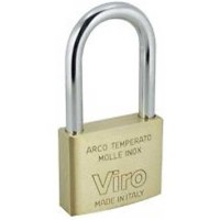 Viro Brass Padlock 50mm LS