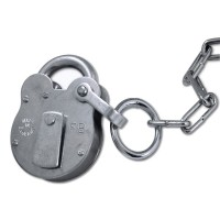 Walsall Fire Brigade Padlock FB1 with Chain