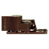 Federal Sliding Sash Window Lock Brown