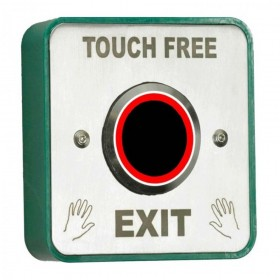 Securefast Touch Free Illuminated Exit Button