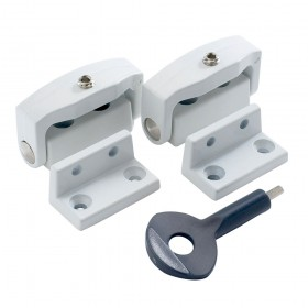 Yale P113 Toggle Window Lock White x 2