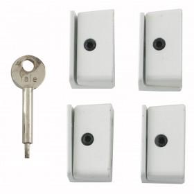 Yale 8K109 Window Lock x 4