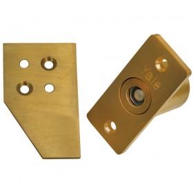 Yale WS1 Sash Window Lock Brass